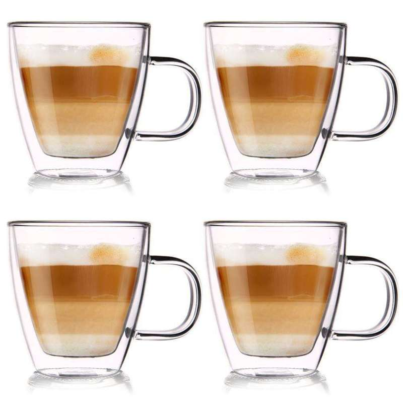 ORION 4x Thermal glass with double wall for COFFEE 0,18