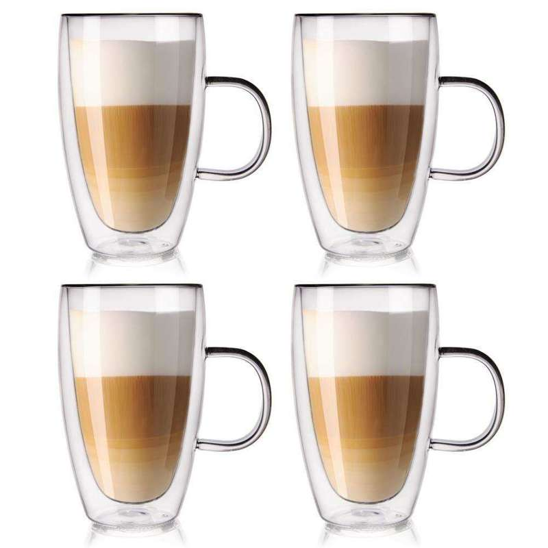 ORION 4x Thermal glass with double wall for COFFEE 0,43