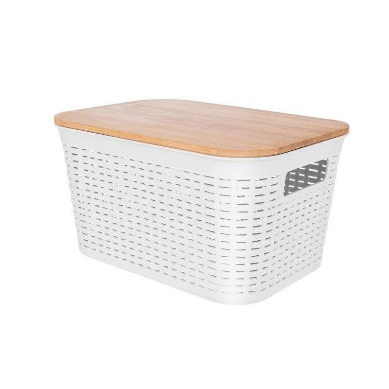 ORION Bathroom container / for storage + lid