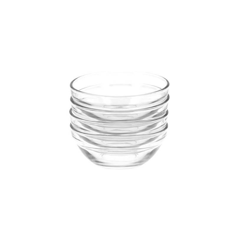 ORION Bowl salad bowl dip glass 10,5 cm 190ml 4 pieces