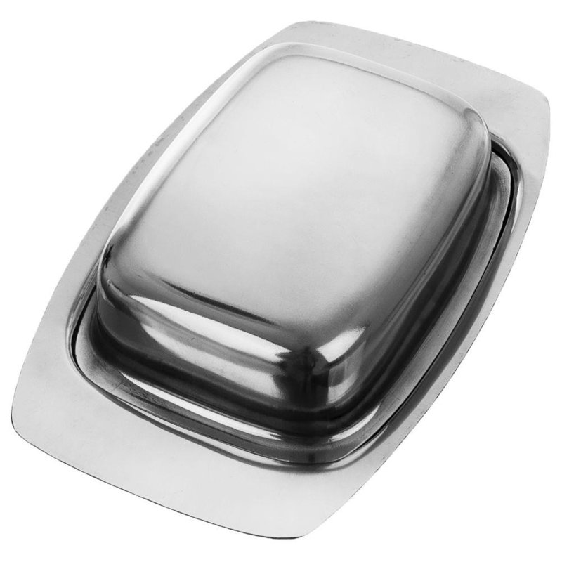 ORION Butter dish container for butter steel