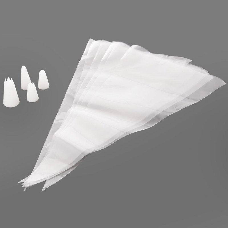 ORION Confectionary sleeve / bag / decorator + tips 12 elements
