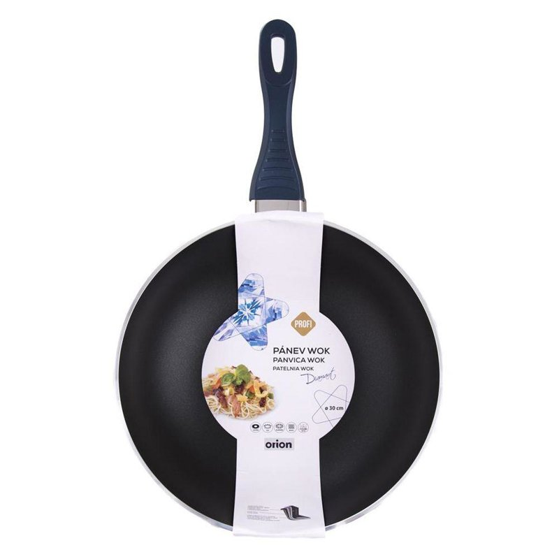 ORION DIAMOND pan 30 cm WOK induction