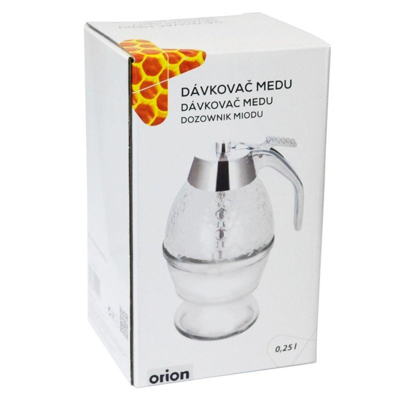ORION Dispenser / glass dispenser for honey syrup