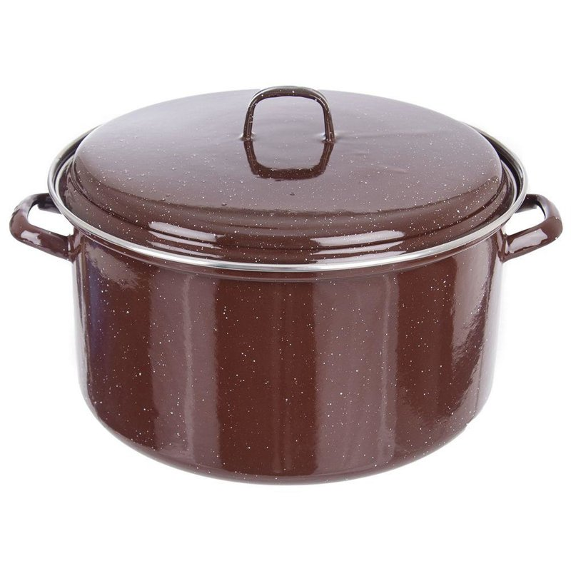ORION Enamel pot gastronomic big 32cm 13L