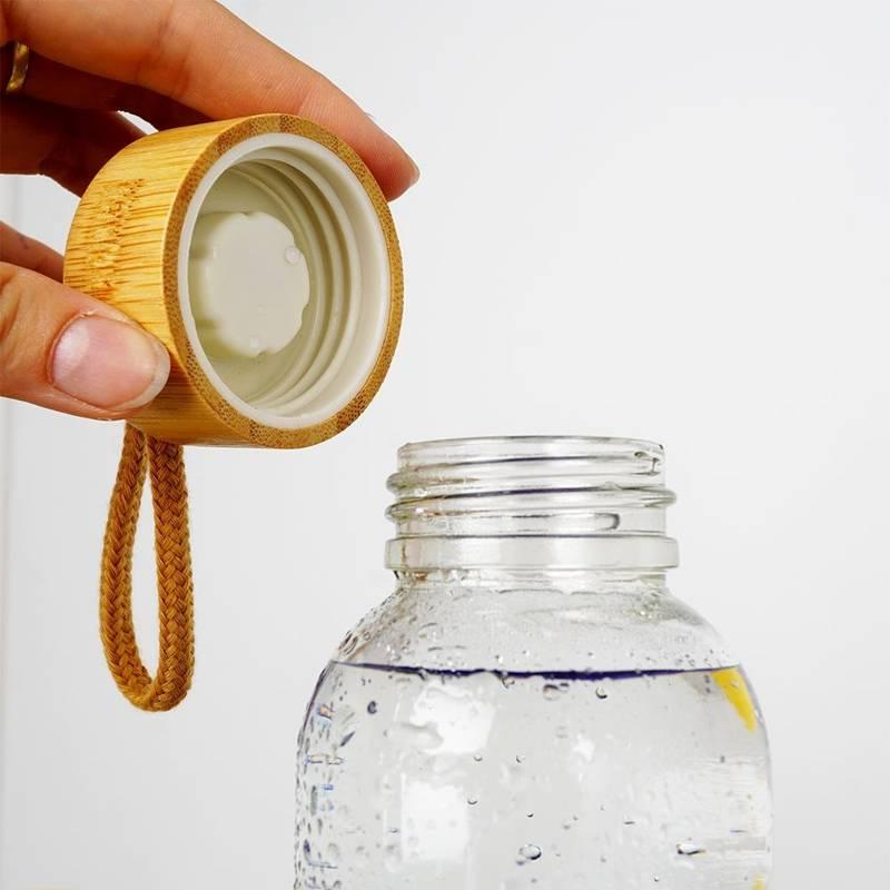 ORION GLASS bottle water bottle for water juice lemonade smoothie cocktail 0,5L