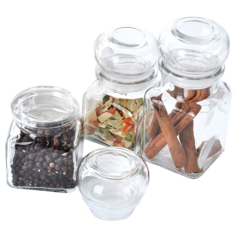 ORION Glass container for spices 120 ml