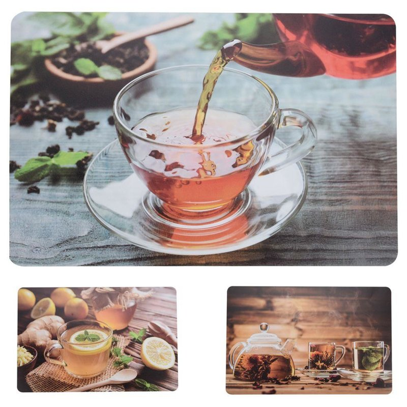 ORION Kitchen mat for table PAD for plate cutlery TEA