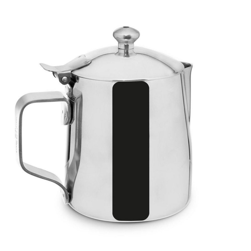 ORION Steel jug for milk wit lid 0,35L jug milkjug