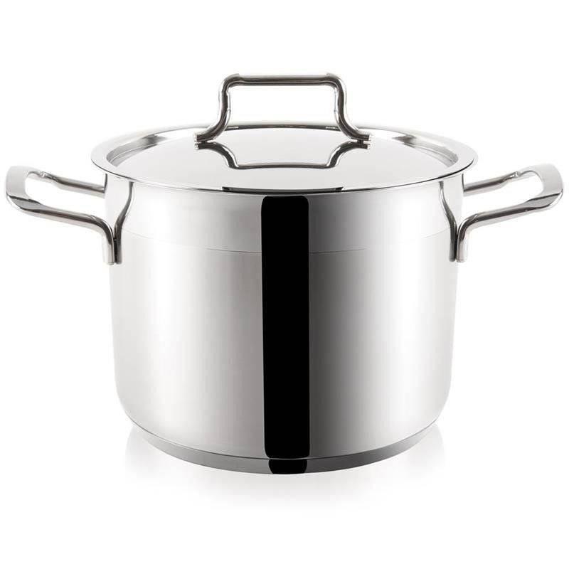 ORION Steel pot with lid 18/10 PREMIUM 18,2L