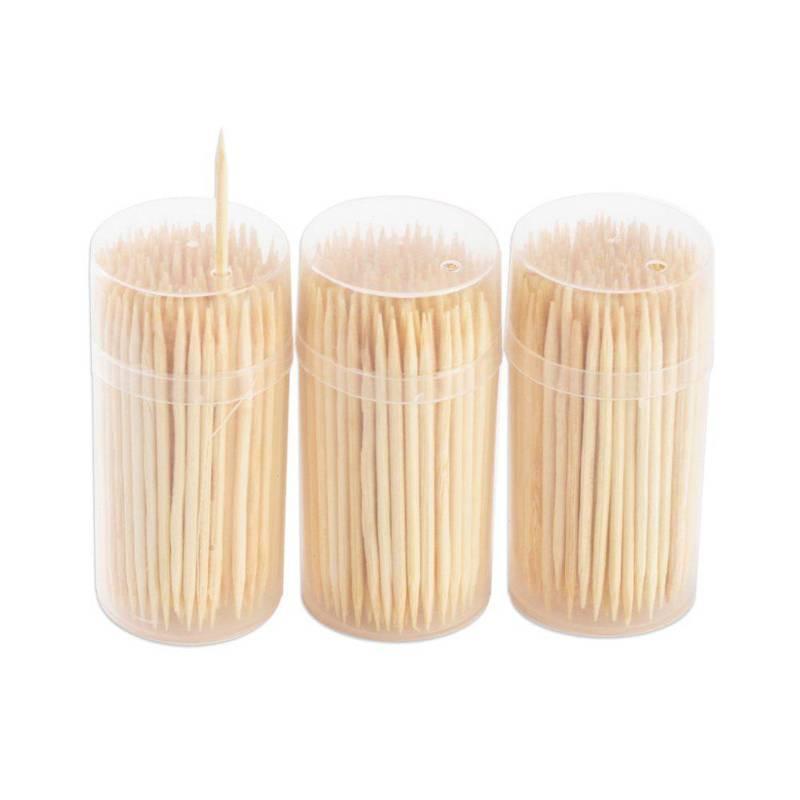 ORION Toothpicks, rolls 3 x 200 pcs.