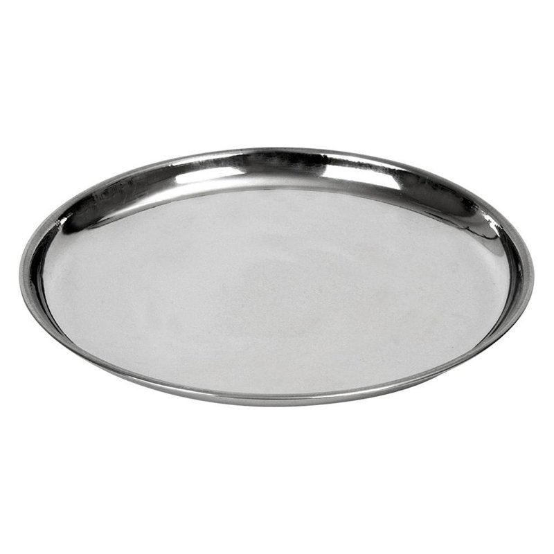 ORION Tray for serving steel round plate 23 cm
