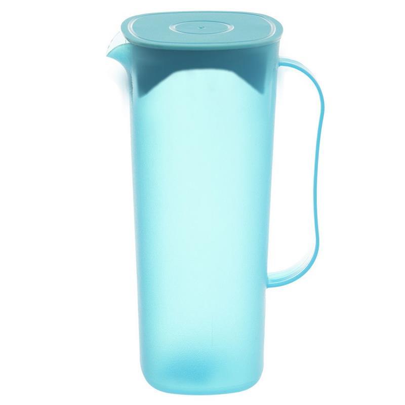 ORION Getränkekanne Wasserkanne Saftkanne mit Deckel Griff Ausgießer 1,8l spülmaschinenfest