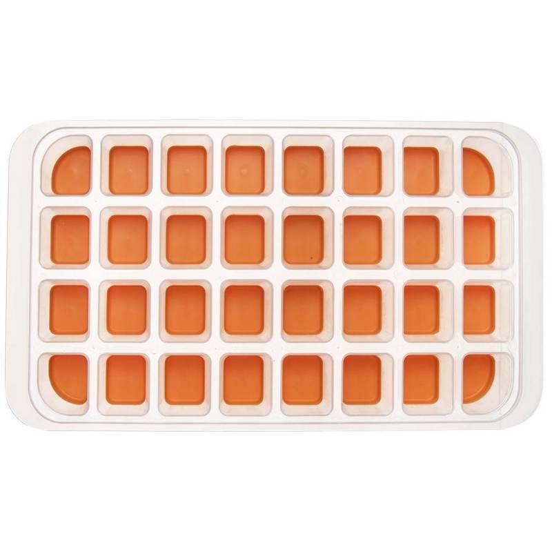 Eiswürfelform Eiswürfelbehälter für 32 Stück