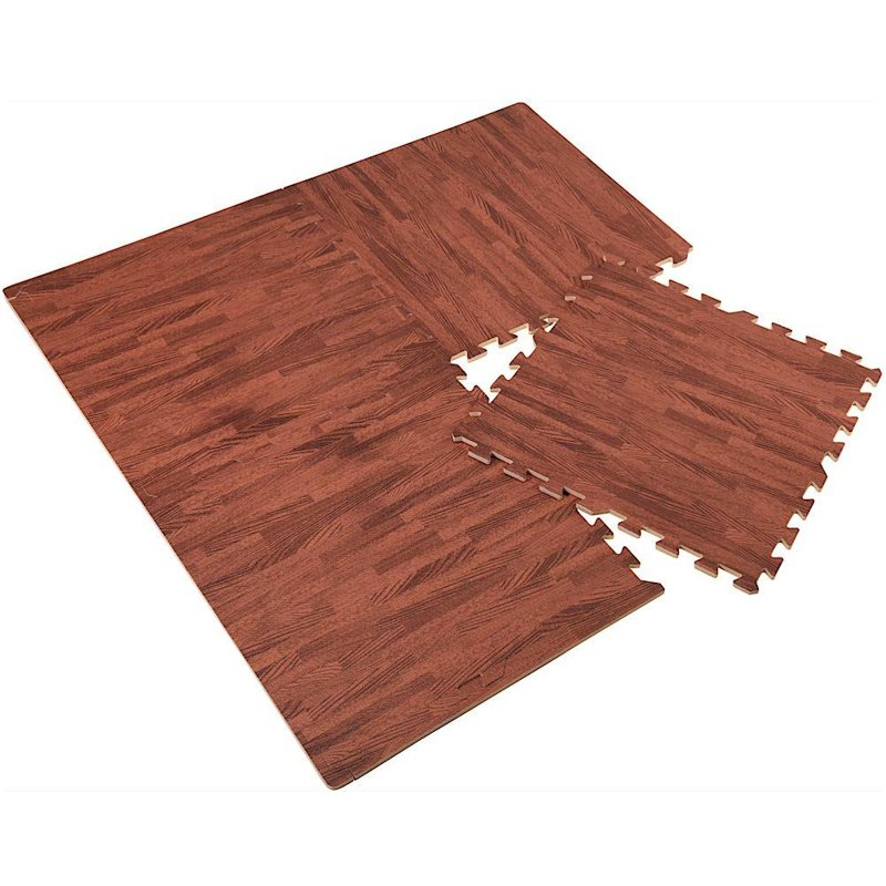 ORION Bodenmatte Puzzlematte Trainingsmatte aus SCHAUMSTOFF 60x60cm 4 Puzzleteile
