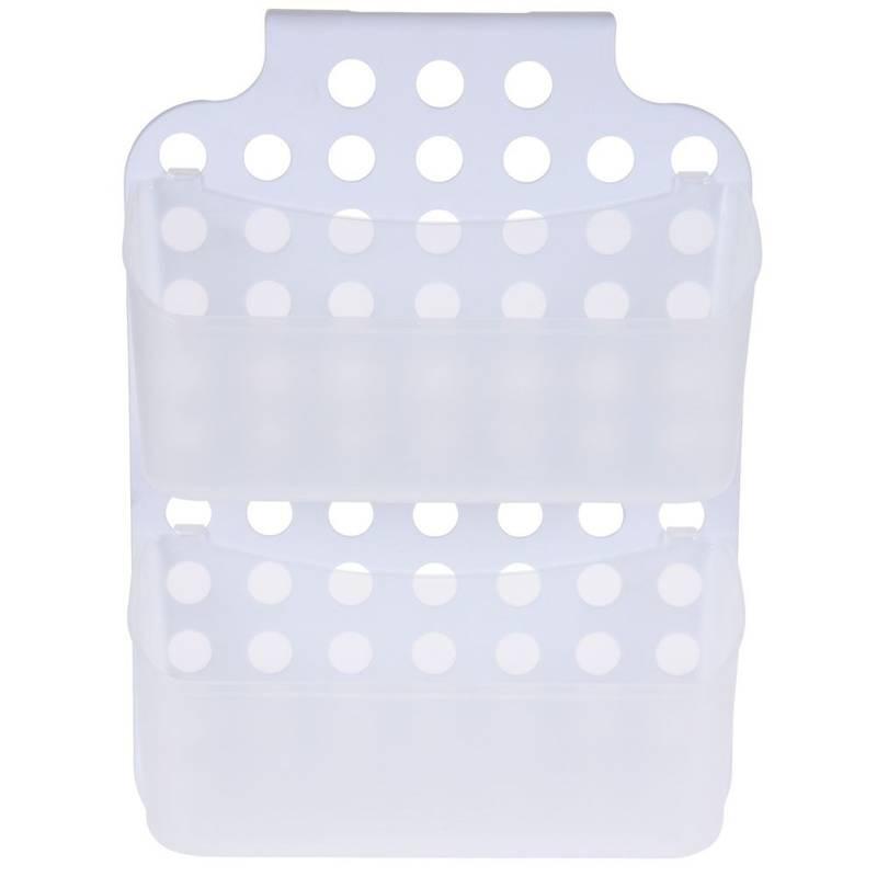 ORION Duschkorb Duschregal Hängeregal für die Dusche Badezimmer mit zwei Ablagen Körben