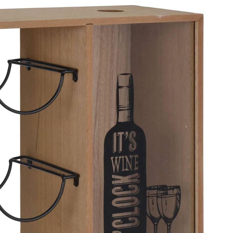 ORION Flaschenständer WEINREGAL Weinflaschenhalter für 6 Flaschen