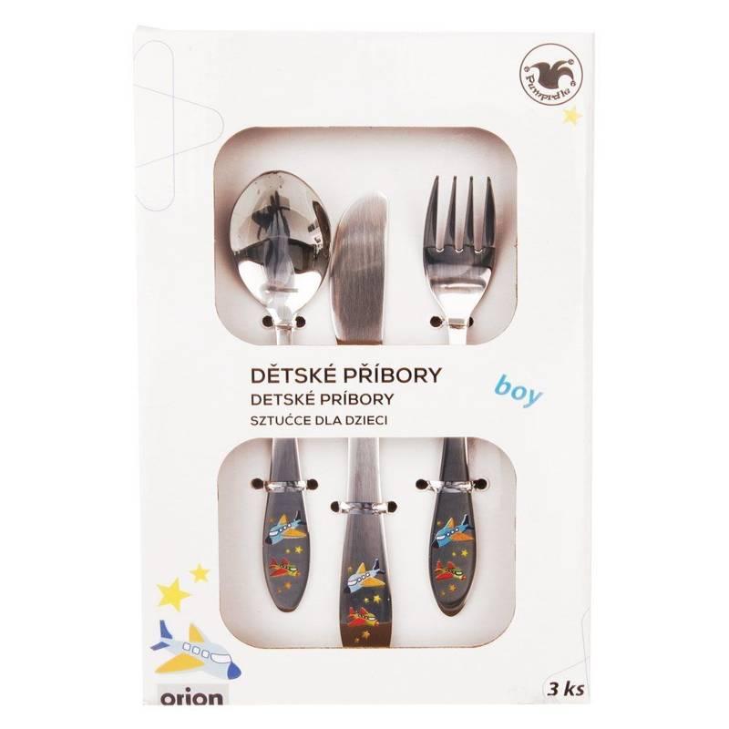 ORION Kinderbesteck Löffel Gabel Messer 3-teilig