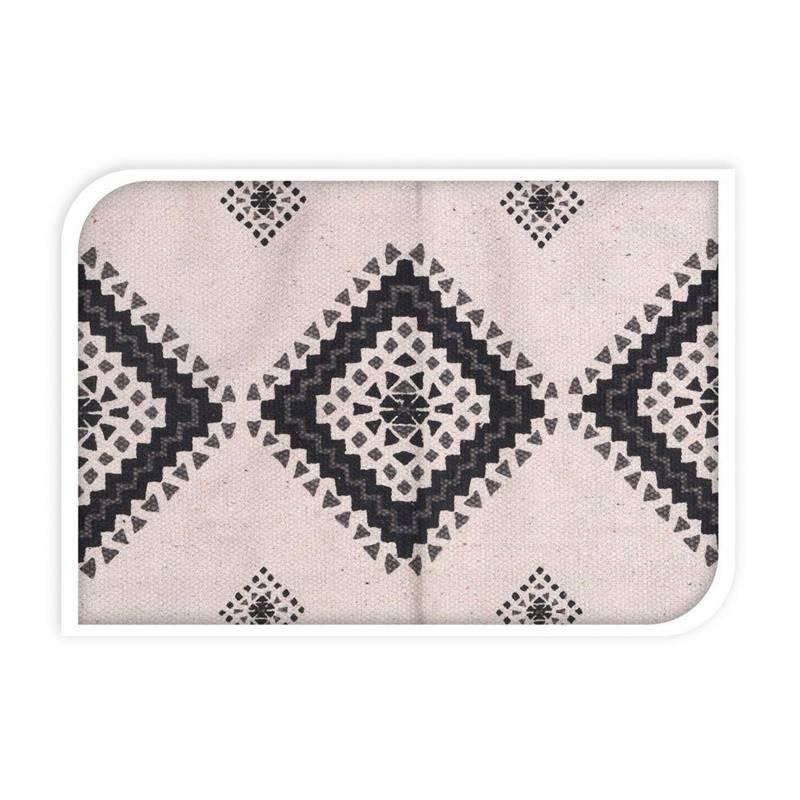 ORION Kleiner Teppich aus Baumwolle Matte 60x90 cm