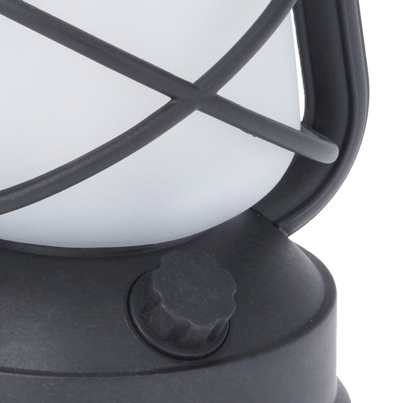 ORION LED-Lampe LATERNE mit Flammeneffekt / LED-Laterne mit Flammenoptik