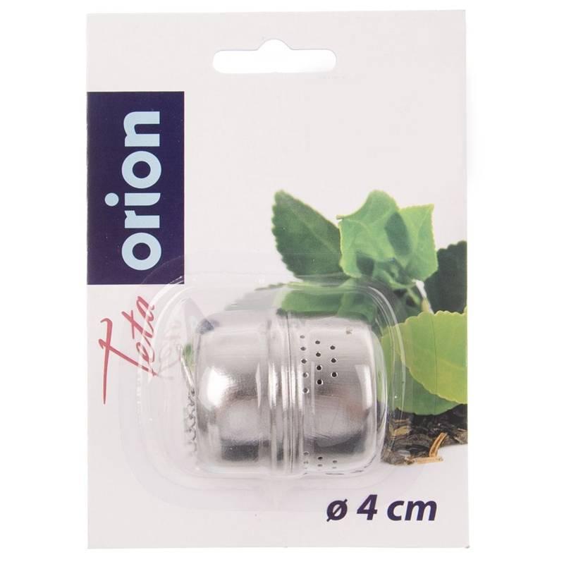 ORION Teeei / Teesieb Kräutersieb mit Kette 4 cm