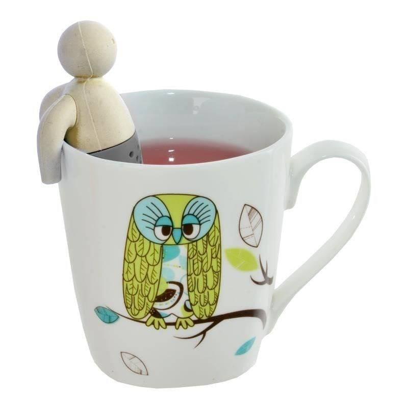 ORION Teesieb Teefilter Kräutersieb zum Einhängen TEEMÄNNCHEN
