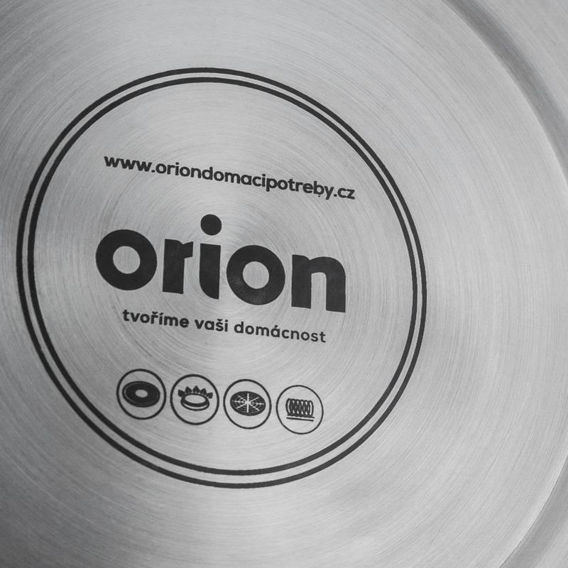 ORION Wasserkessel modern aus Edelstahl Flötenkessel SCHWARZ 1,8L Gas Induktion