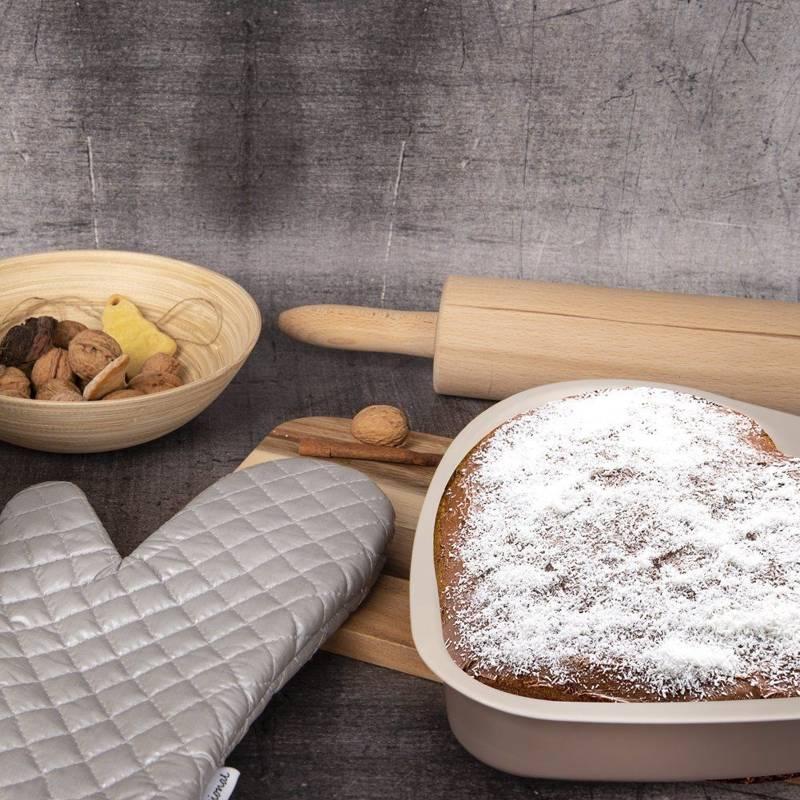 Professioneller Küchenhandschuh Topfhandschuh Ofenhandschuh 30x18 teflonbeschichtet