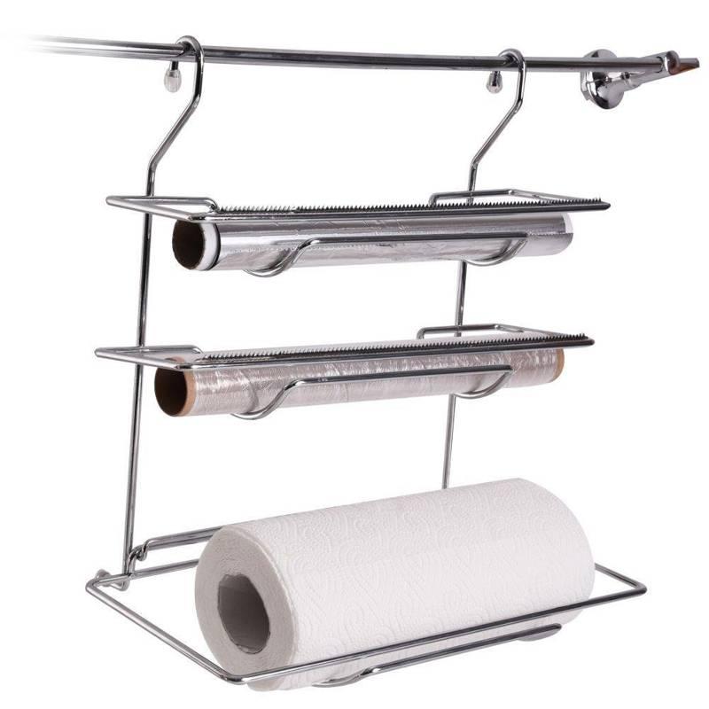 Schneidabroller Folienspender Küchenrollenspender Küchenrollenhalter zum Aufhängen