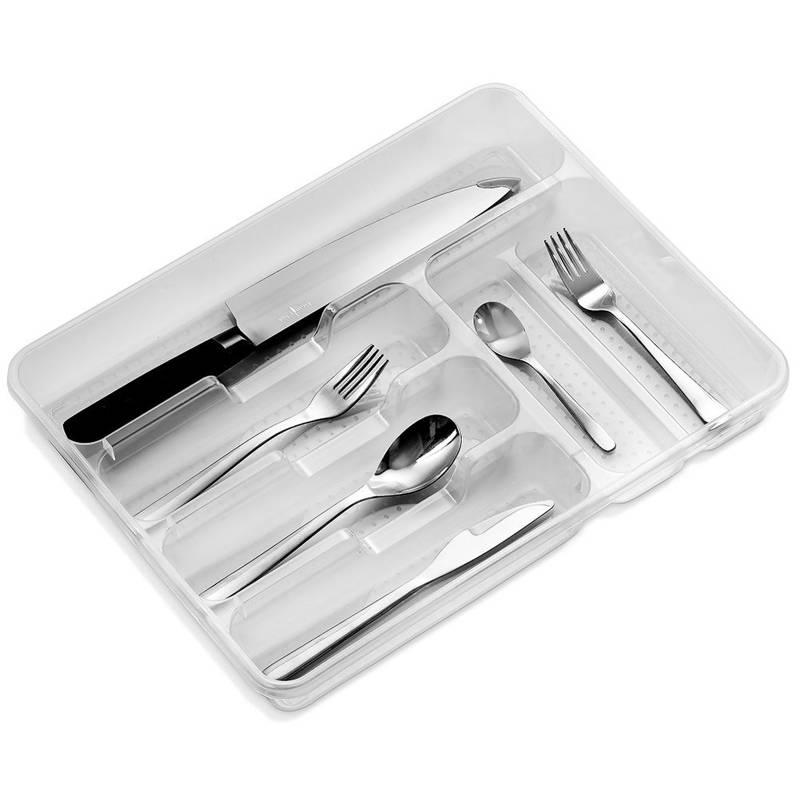 Schubladeneinsatz BESTECKEINSATZ Küchenorganizer 38,5x31