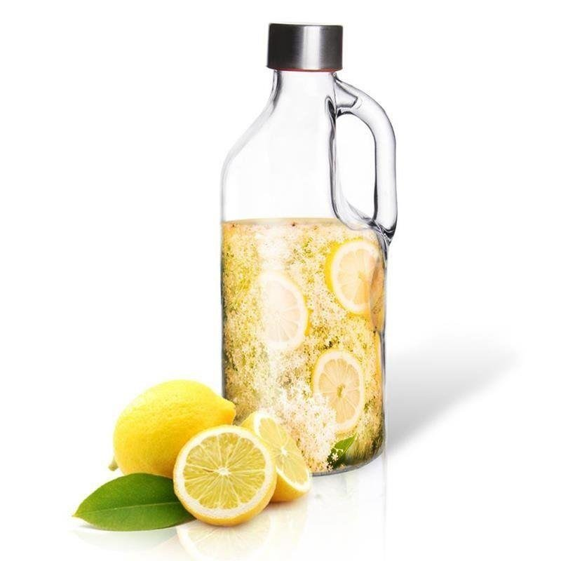 Butelka szklana do nalewek lemoniady RETRO 1,15L