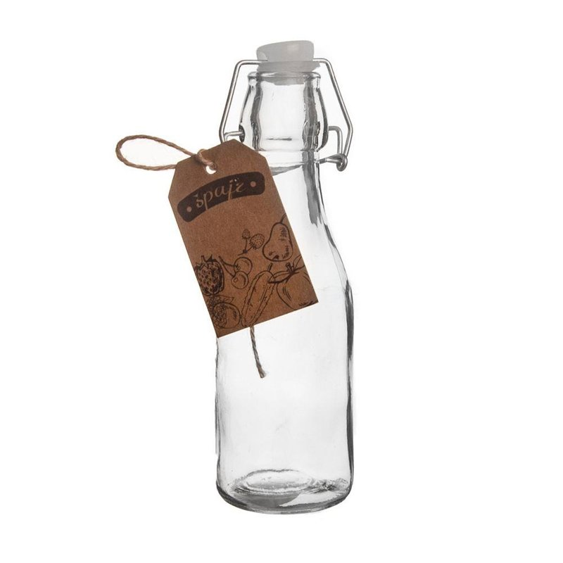 Butelka szklana do nalewek wina śliwowicy 0,29L