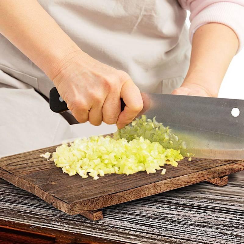 Deska kuchenna drewniana mango do krojenia, serwowania, 62x30 cm, z uchwytem