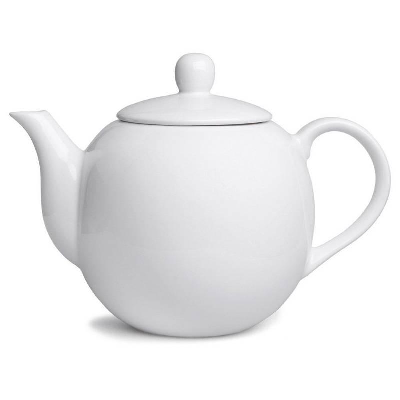 Dzbanek porcelanowy z uchwytem 1,1L kawa herbata
