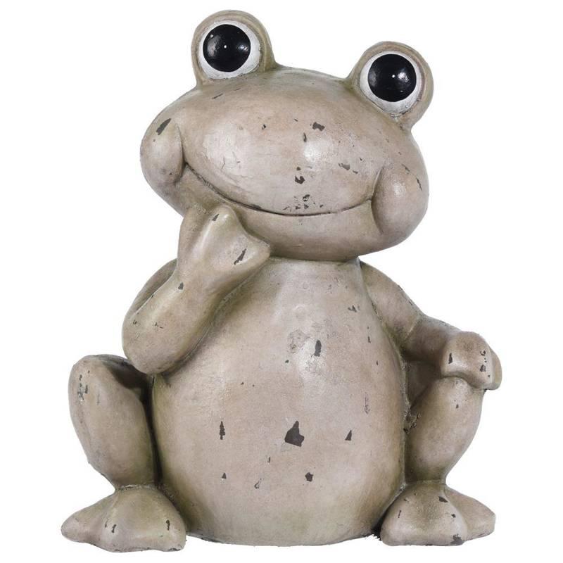 Figurka ogrodowa ŻABKA żabka ozdoba do ogrodu 36,5 cm