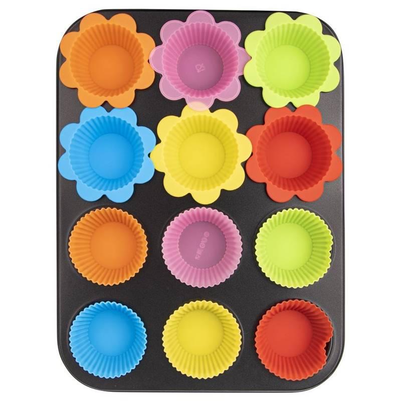 Forma na muffinki 12szt +foremki silikonowe