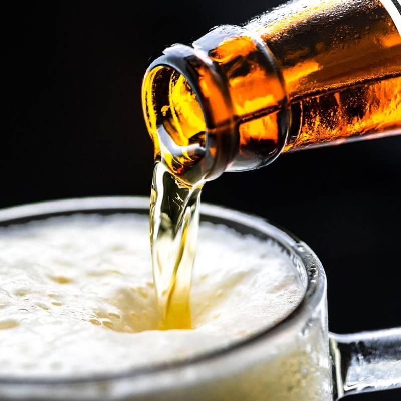 Kufel do piwa szklany, kubek, szklanka z uchem, 0,5L
