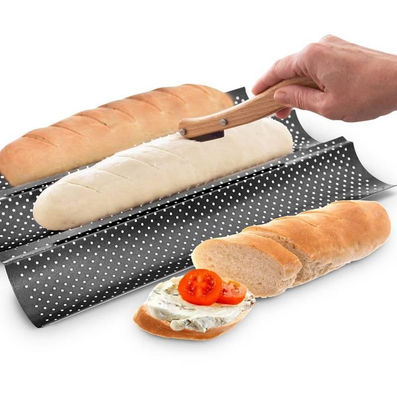Nóż, nożyk do zdobienia, nacinania pieczywa, chleba, bułek, bagietek