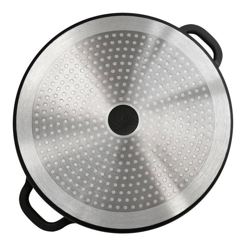 Patelnia GRANITOWA rondel 28cm GRANDE gaz indukcja