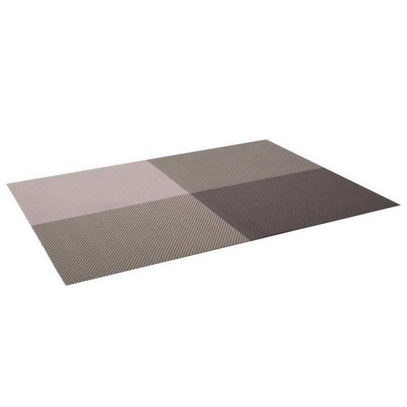 Podkładka kuchenna na stół, 30x45 cm, CUBE, brązowa
