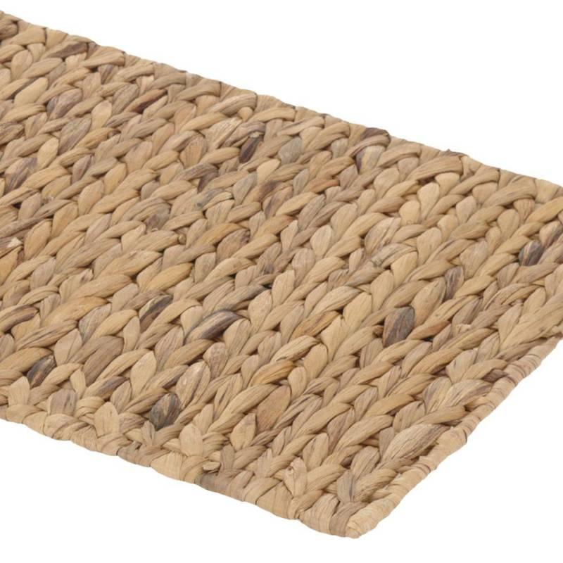 Podkładka na stół naturalna, mata kuchenna pod talerz, sztućce, prostokątna, 43x34 cm