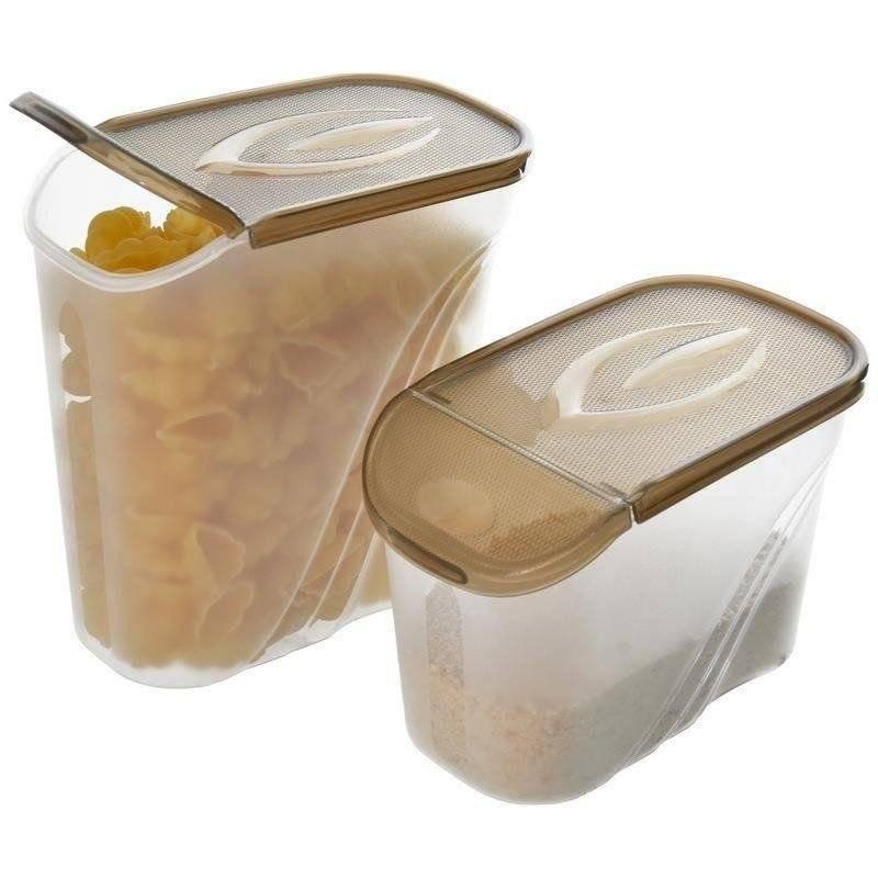 Pojemnik na żywność płatki kasze makaron 1,3 l
