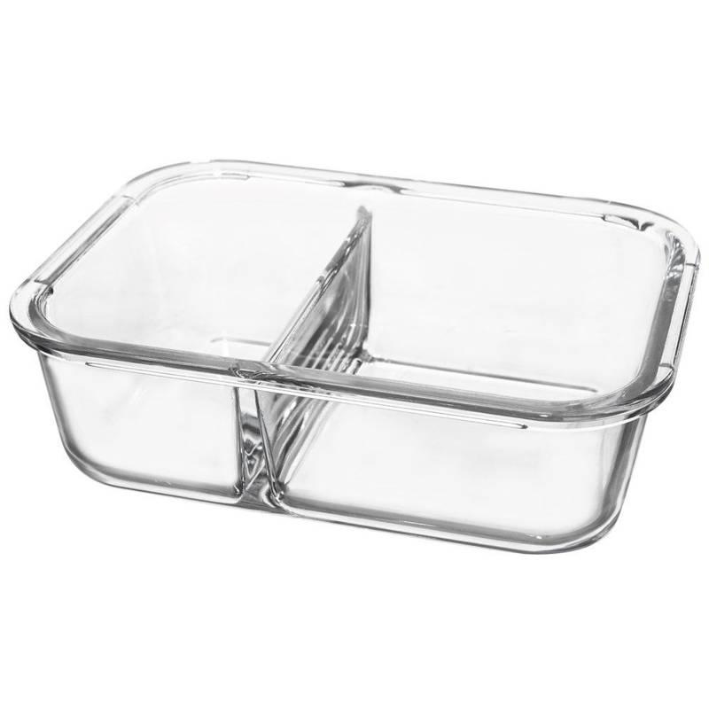 Pojemnik na żywność szklany hermetyczny 20x15 cm