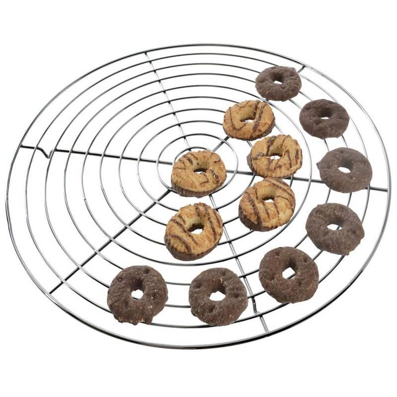 Ruszt grillowy do brytfanny pieczenia kratka podstawka do studzenia lukrowania ciasta tortu 32,5 cm