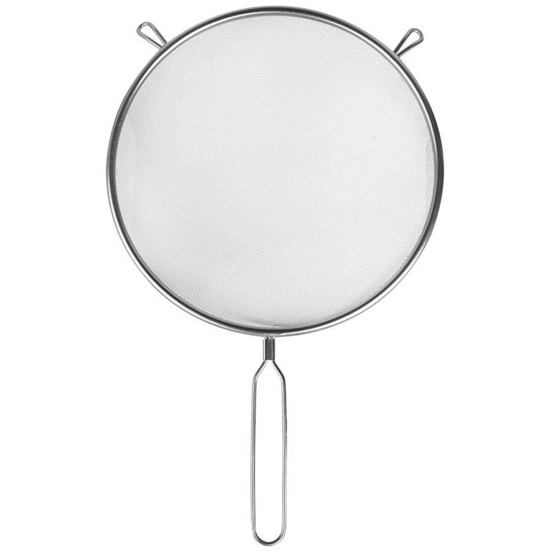 Sitko kuchenne stalowe cedzak durszlak 22 cm