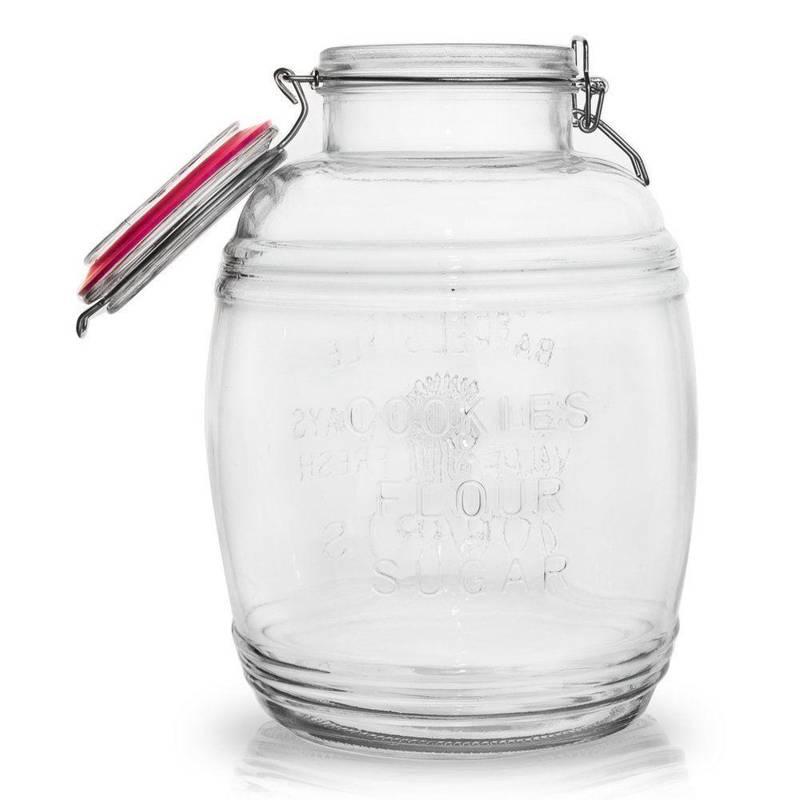 Słoik / pojemnik szklany patentowy 4,4L VIOLA