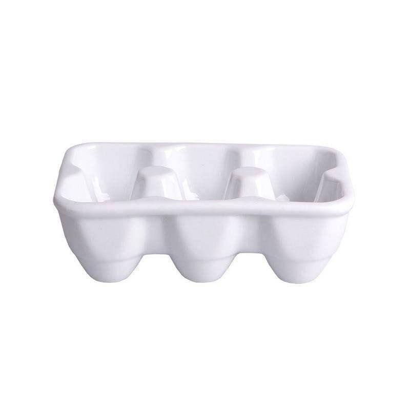 Stojak / pojemnik na jajka ceramiczny KARTON