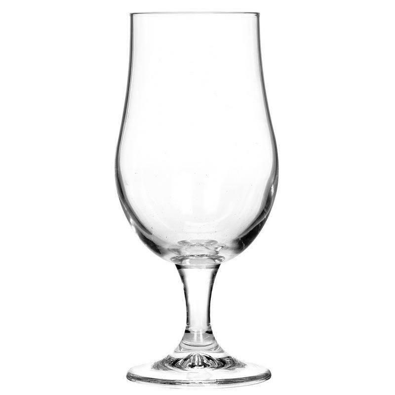 Szklanka na nóżce POKAL zestaw szklanek szklanki do piwa koktajlu 370ml  4 sztuki