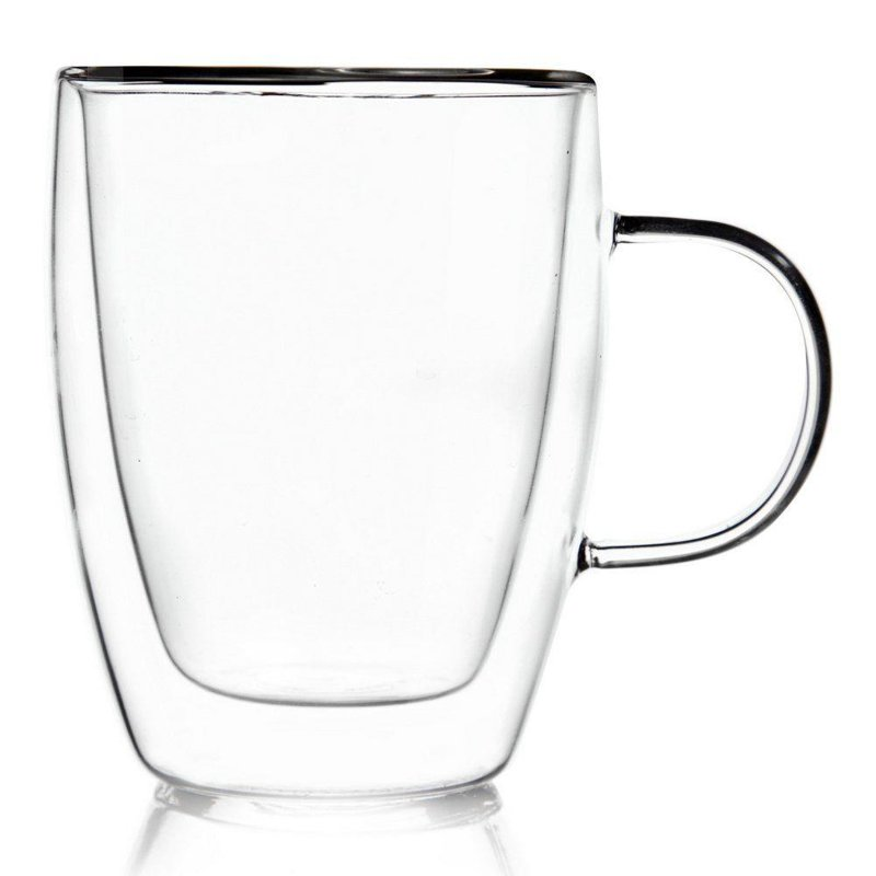 Szklanka termiczna z podwójną ścianką do KAWY 0,3L