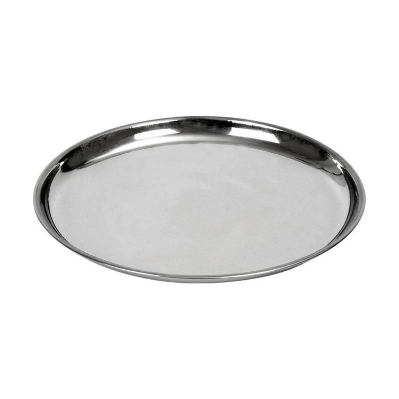 Taca do serwowania stalowa okrągła talerz 18 cm